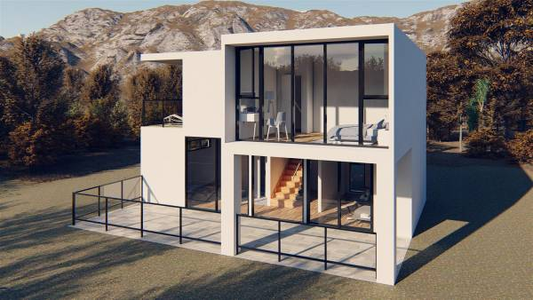 Contemporary Modular Home